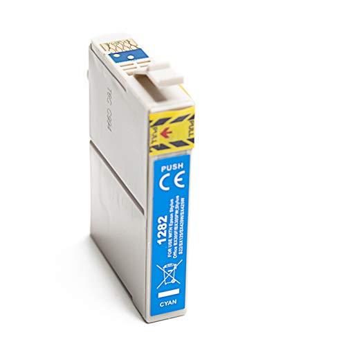 Cartuchos de Tinta de Repuesto para Epson Stylus SX125 SX235W SX130, Color Cian
