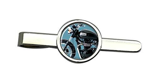 Giftshop UK Bonneville Motorrad Krawatte Clip