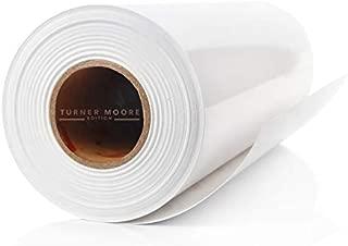 White Adhesive Vinyl Roll 12