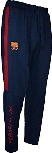 Trainingshose Barça, offizielles Produkt von FC Barcelona, Erwachsenengröße, für Herren XL marineblau