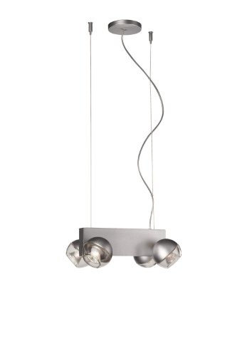 Massive Luminaire Suspension 4 Spots Perla Philips Massive Interieur Ma531184810