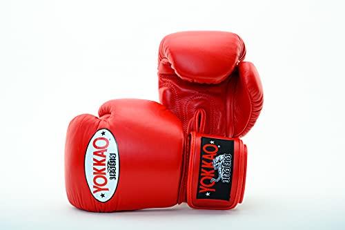YOKKAO Matrix Breathable Muay Thai Boxing Glove - Black, Red, Blue, White, Yellow, Green, Grey, Petroleum, 8oz, 10oz, 12oz, 14oz,...