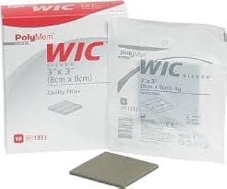"Polymem Wic Silver Cavity Wound Filler 3"" X 3"" Part No. 1333 (10/box)"