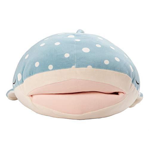 りぶはあと抱き枕プレミアムねむねむアニマルズかむかむズじんべえザメのじんべえさんLサイズ(全長約63cm)ふわふわもちもち68840-62