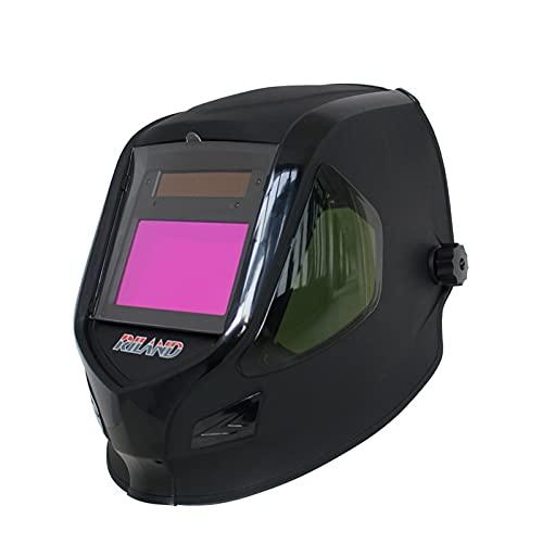 Accesorios de soldadura Solar auto oscureciendo el casco de soldadura/tapa de soldador TIG MMA ARCO MIG Máscara de soldadura Soldador Hood Solar LI Batería X9000 Kit de soldador