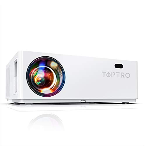 Proyector, TOPTRO 7200 Lúmenes Proyector Full HD 1080P