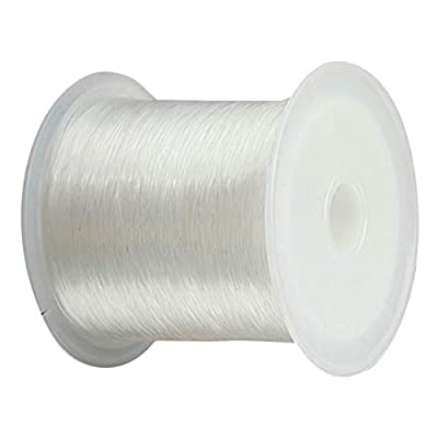 TaoNaisi Transparent Fishing Thread Monofilament Fishing Line Crystal String Wire Bead String DIY Accessory