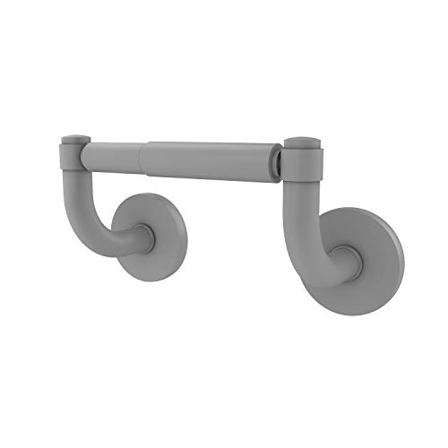 Allied Brass RM-24 Remi Collection 2 Post Tissue Toilet Paper Holder, Matte Gray