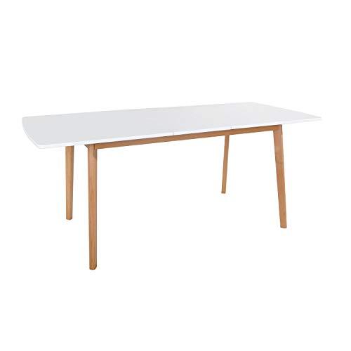 Happy Garden Table Extensible Helga 120 / 160cm Blanche