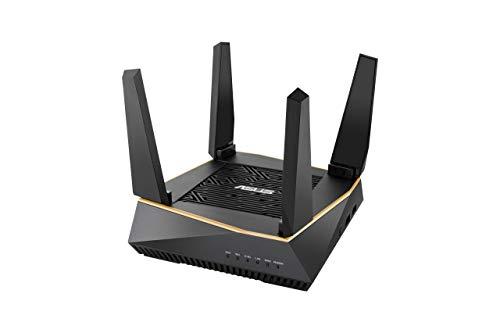 AX6100 Tri-Band Système WiFi maillé pour Les Maisons Grandes et à Plusieurs étages, Prend en Charge Les paramètres SSID Flexibles, entrée Filaire