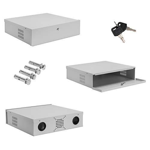 Burg-Wachter - Cassetta di sicurezza DVR NVR CCTV con serratura, 45,7 cm