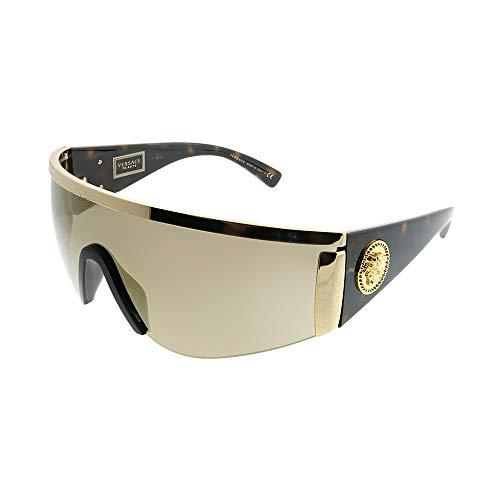 Versace Occhiali da Sole TRIBUTE COLLECTION VE 2197 GOLD HAVANA/BROWN GOLD 40/14/130 unisex