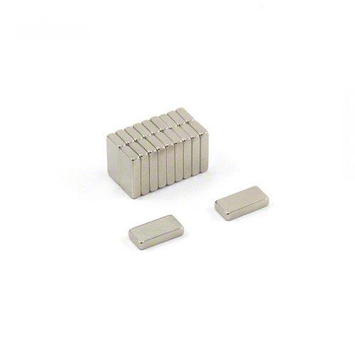 First4magnets F1052-10 x 5 x 2 mm grosor N42 imanes
