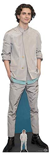 Star Cutouts Ltd Star Cutouts CS827 Timothee Hal Chalamet Lifesize Pappaufsteller/Aufsteller, Höhe 179 cm, Breite 58 cm, mehrfarbig