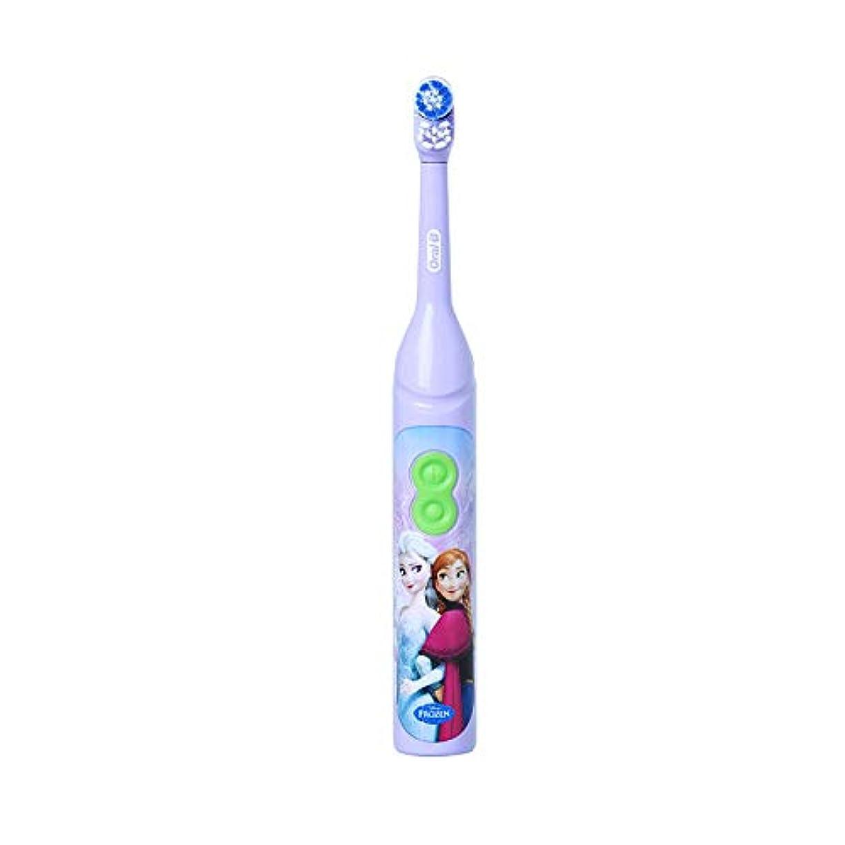 協定エリートリールOral-B DB3010 Stages Power Disney Frozen Elsa 電動歯ブラシ [並行輸入品]