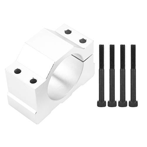 Abrazadera de soporte de montaje de motor de husillo CNC de aluminio de 52 mm de diámetro Dgtrhted con tornillos
