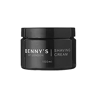 SHAVING CREAM - Benny's of London- 100% VEGAN FRIENDLY - SPECIAL OFFER - Great lather and smell - THE BEST SHAVING CREAM - MADE IN THE UK