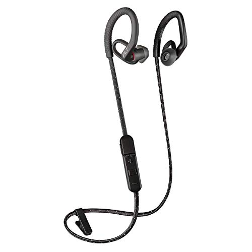 Plantronics BackBeat FIT 350 Wireless Headphones, Stable, Ultra-Light, Sweatproof in Ear Workout Headphones, Black (Renewed)