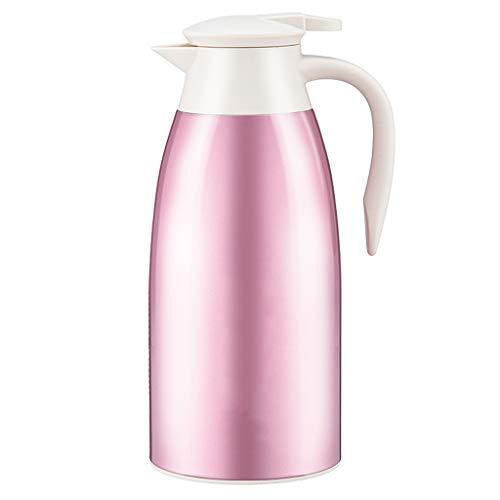 AA- kettle Olla de Aislamiento. Potencia Interior de Vidrio de Gran Capacidad de 1.9L. Termo de vacío. Púrpura.