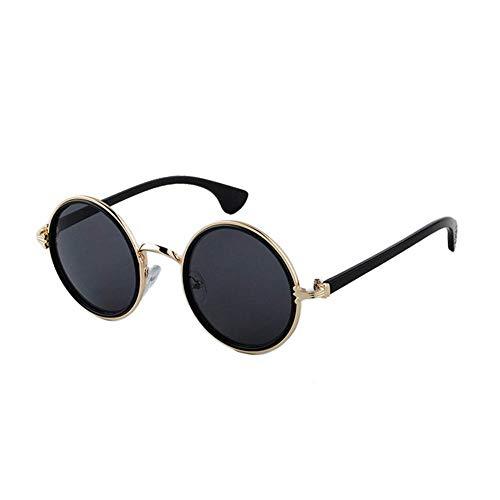 FJCY Gafas de Sol de bambú de Color Gafas de Sol de Madera para Hombre Gafas de Sol con Espejo retrovisor para Mujer Retro-Kp1501-C11