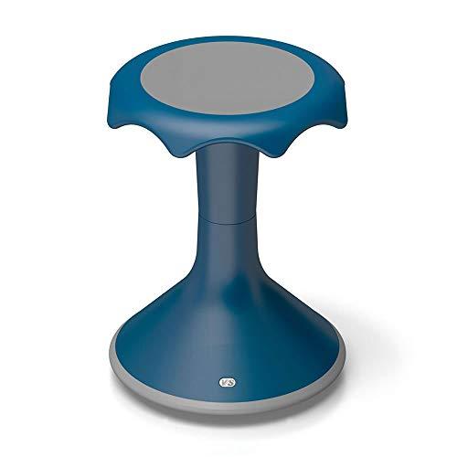 Hokki VS America Stool Flexible Ergonomic Seating- 18' Blue