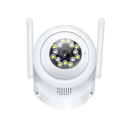 Cámara de seguridad inalámbrica para exteriores, cámaras de vigilancia para sistema de seguridad en el hogar, cámara HD 1080P con detección de movimiento, IP66 a prueba de agua, audio bidireccional