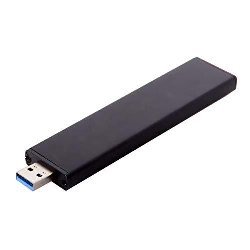 JSER Unidad de disco duro USB 3.0 macho a 17+7 pines SSD HDD Unidad de cartucho de disco duro para MacBook Air A1465 A1466 2012
