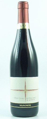 Teroldego Rotaliano Riserva DOC 2015 MezzaCorona trockener Rotwein aus Trentino