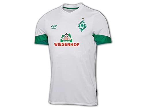 UMBRO Camiseta de visitante del Werder Bremen 21 22, color blanco, Unisex adulto, Color blanco., xxx-large