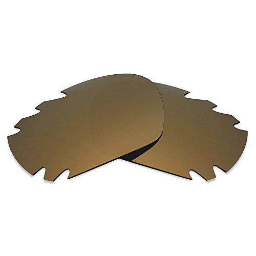 Mryok - Cristales de repuesto para Oakley Jawbone Vented Polarizado, bronce oro....
