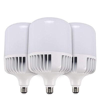 SUNTHIN 3 Pack Daylight LED Bulbs 5500K 4000LM 300W Replacement Yard Light Bulb LED Corn Light Bulb