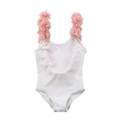 Bañador de Natación de una Pieza para Bebé Niñas, Bebes Niñas Infantil bañador de Piscina Monokini Traje de baño
