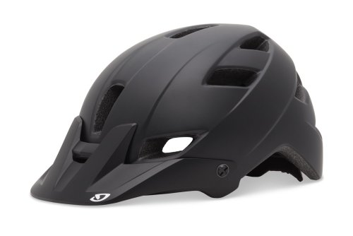 Giro Feature Cycling Helmet (Matte Black, Medium)