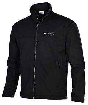 Columbia Mens Mt Village Softshell Jacket-Black-Small