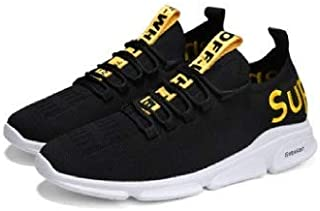 BUCADIA Men' S Mesh Running Sports Walking Casual Sneakers Shoes