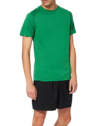 Lower East Fitness T-Shirt Uomo, verde (Grün), S