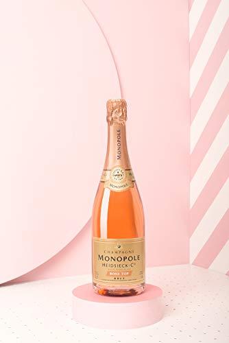 Heidsieck & Co. Monopole Rosé Top Brut Champagner mit Geschenkverpackung (1 x 0.75 l) - 6