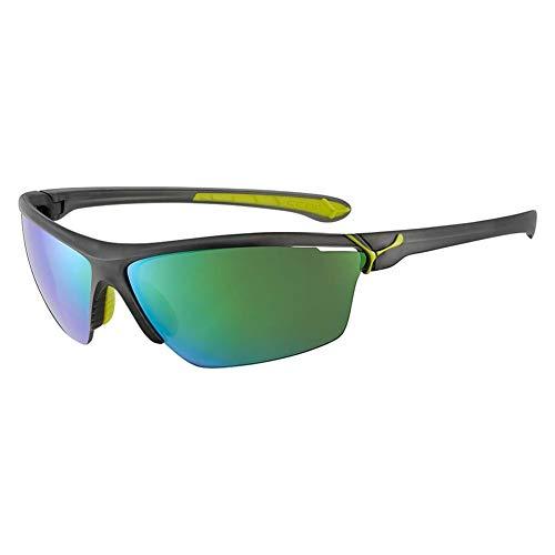 Cébé Cinetik Gafas de sol Adultos unisex Matt Translucent Grey Lime Large