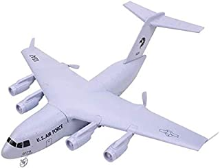 High quality Large C-17 Remote Control Transport Aircraft Model 2.4GHz 2CH Rechargeable Electric Plane Propeller Drive RC ...