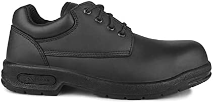 Acton, Proall (A9259)   Black Safety Work Shoes   CSA & ESR Certified   Lightweight PU Outsole   Wide Width