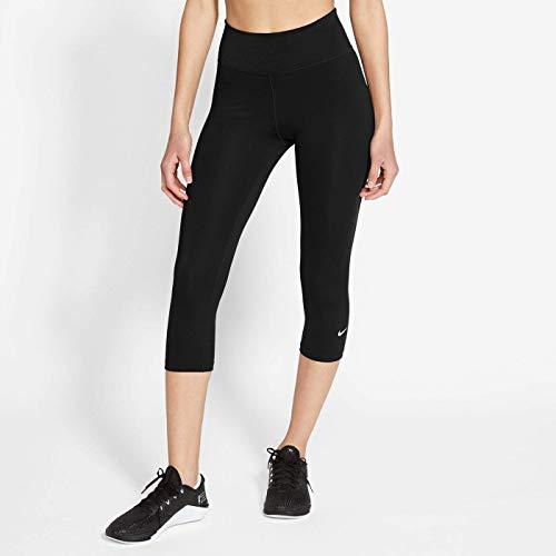Nike One Dry Fit Mr Capri Tights Black/White XS
