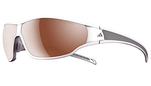 adidas Eyewear - Tycane S Polarized, Color Shiny White