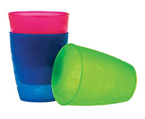 Nûby - Set gobelets ouverts 3p - 12m+ - 300ml - Multicolore