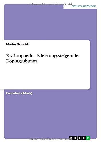 Erythropoetin als leistungssteigernde Dopingsubstanz