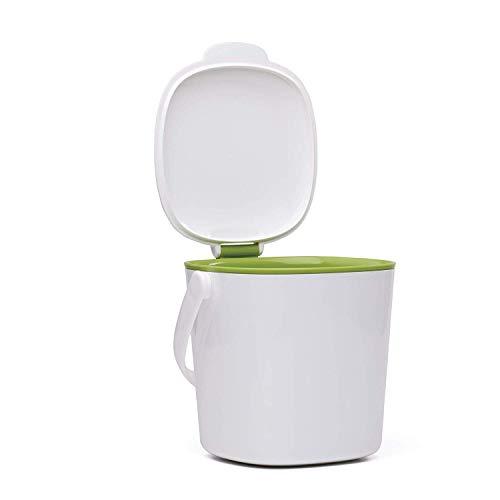 OXO Good Grips Komposteimer, Plastik, Weiß