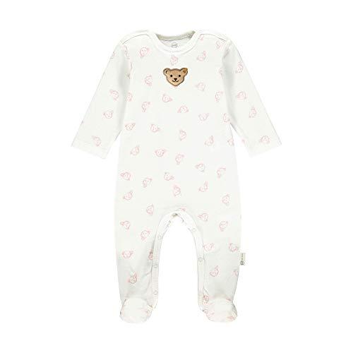 Steiff Unisex Baby Strampler GOTS Nachthemd, Bridal Rose, 074