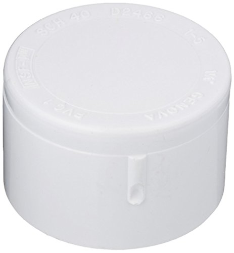 "GENOVA PRODUCTS 30159 1-1/4"" Cap Slip, White"