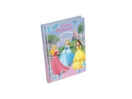 MC SRL Principesse Disney - Diario Scuola Non Datato Copertina Rigida - Dimensioni 20x14,5 cm Circa - Collezione Scuola 2019-2020