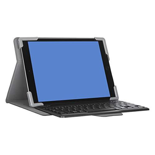 Targus THZ861FR Pro tek - Funda Universal con Teclado para Tablet - 9-11' (francés) - Negro