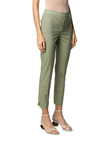 TWIN SET COLLEZIONE 201TT2032 04990 Oil Green Twin Set Pantalone Donna 42